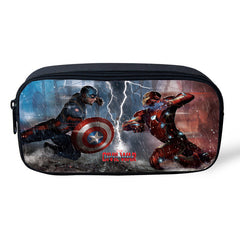 Captain America: Civil War Pencil / Cosmetic Zipper Pouch