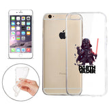 "Star Wars Darth Vader Jelly Clear Case for Apple iPhone 6/6s (4.7"")"