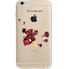 Deadpool Jelly Clear Case for Apple iPhone 7