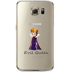 Disney's Villains (Evil Queen) Jelly Clear Case for Samsung Galaxy S7