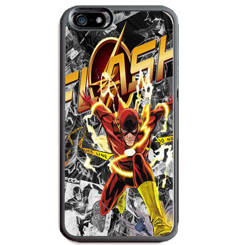 The Flash TPU+PC Case For Apple iPhone 7 PLUS