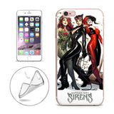 "Harley Quinn Catwoman Poison Ivy (Gotham Sirens) for Apple Iphone 6/6s (4.7"")"