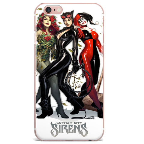 "Harley Quinn Catwoman Poison Ivy (Gotham Sirens) for Apple Iphone 6/6s (4.7"")Harley Quinn Catwoman Poison Ivy (Gotham Sirens) for Apple iPhone 7"