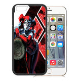 Harley Quinn with Mallet TPU Bumper for iPhone 7