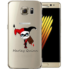 Harley Quinn Jelly Clear Case for Samsung NOTE 7