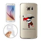 Harley Quinn Jelly Clear Case for Samsung Galaxy S7