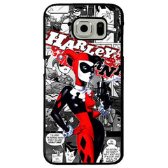 Harley Quinn TPU+PC Case For Samsung Galaxy S8