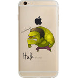 "The Hulk Jelly Clear Case for Apple iPhone 6/6s (4.7"")"