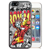 Marvel Comics Iron Man TPU+PC Case for Apple iPhone 7 PLUS