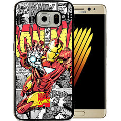 Iron Man TPU+PC Case For Samsung NOTE 7