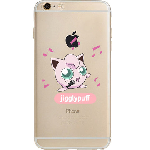 Pokemon Jigglypuff Jelly Clear Case For Apple Iphone 6/6s (4.7-Inch)