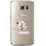 Pokemon Jigglypuff Jelly Clear Case for Samsung Galaxy S6