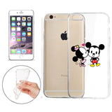 Disney's Mickey & Minnie Jelly Clear Case For Apple Iphone 7 + PouchDisney's Mickey & Minnie Jelly Clear Case For Apple Iphone 7 PLUS + Pouch