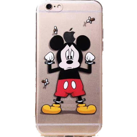 brand new 9f973 99f47 Apple iPhone 6 Disney's Mickey Mouse clear case iPhone 6/6s (4.7