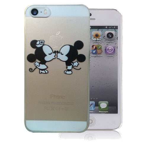 Disney's Mickey and Minnie Mouse iPhone 6/6s PLUS (5.5-inch) Clear Case