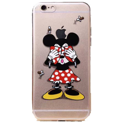 new style 6821a ed979 Apple iPhone 6 Disney's Minnie Mouse clear case iPhone 6/6s (4.7