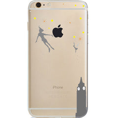 Disney Peter Pan Jelly Clear Case For Apple Iphone 6/6s PLUS (5.5-inch)
