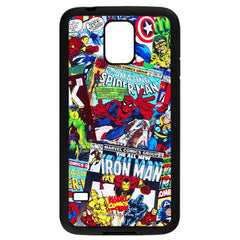 Marvel Comics Avengers Comics Hard Case for Samsung Galaxy S5