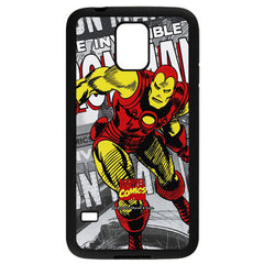 Marvel Comics Iron Man Hard Case for Samsung Galaxy S5
