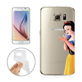 Disney's Snow White Jelly Clear Case For Samsung Galaxy + Pouch (Galaxy S6, S7, S7 EDGE)