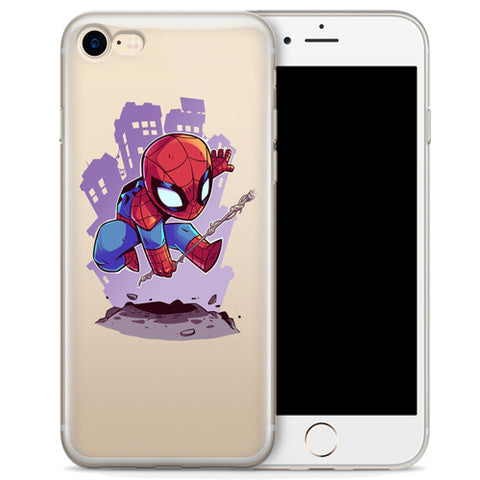 best authentic b2846 f0e90 Spider-Man (animated) Jelly Clear Case for Apple iPhone 6/6s PLUS (5.5