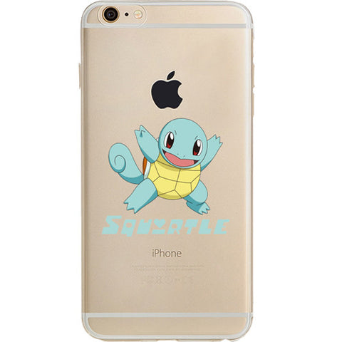 Pokemon Squirtle Jelly Clear Case For Apple Iphone 6/6s (4.7-Inch)