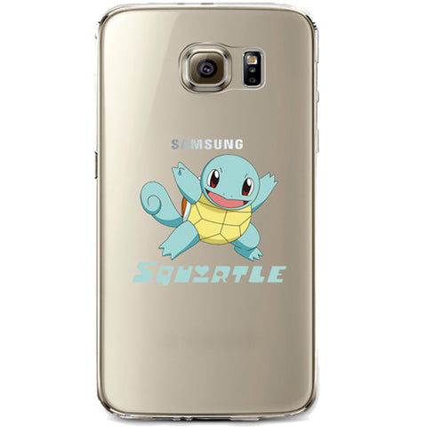 Pokemon Squirtle Jelly Clear Case for Samsung Galaxy S6