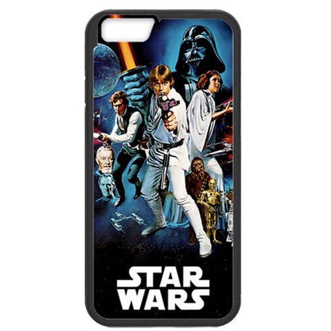 Star Wars Movie Poster TPU+PC Case For Apple iPhone 7