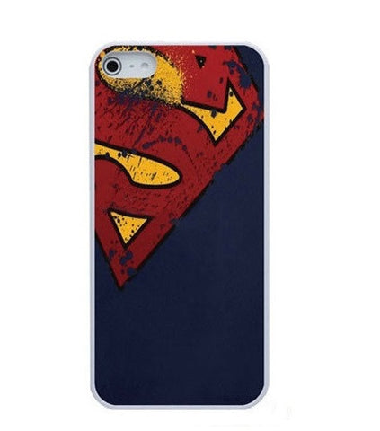 DC Comics Superman Distressed Emblems Hard Case for iPhone 4