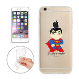 "Superman Jelly Clear Case for Apple iPhone 6/6s PLUS (5.5"")"
