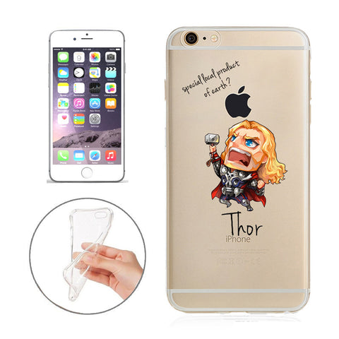 reputable site 89a12 70a70 Thor Jelly Clear Case for Apple iPhone 7 PLUS