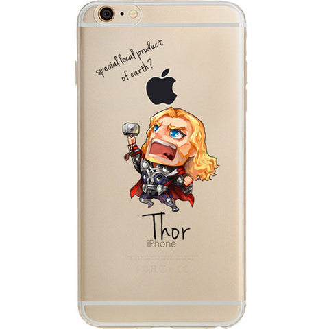 Thor Jelly Clear Case for Apple iPhone 7 PLUS