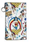 Wonder Woman Jelly Clear Case For Apple Iphone 6/6s PLUS + Pouch