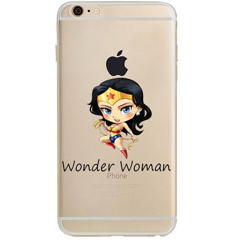 "Wonder Woman Jelly Clear Case for Apple iPhone 6/6s (4.7"")"