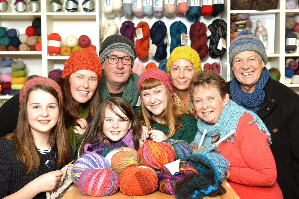 It's a wrap - summarising our brilliant Yarn-a-Thon in May 2017