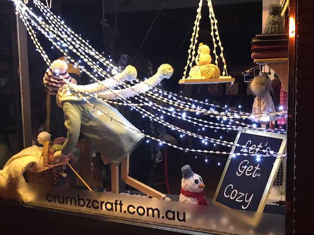 The Art of Window Dressing at Crumbz Craft