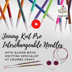 Joining Knit Pro Interchangeable Needles