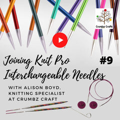 Joining Knit Pro Interchangeable Knitting Needles