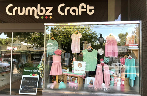 crumbz craft window pastels