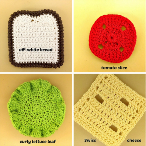 knitted sandwich