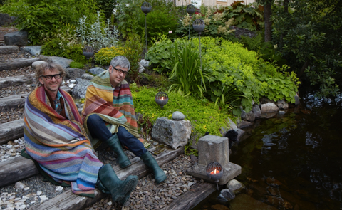 Arne & Carlos' garden in Norway