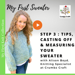 Step 3: Tips, Casting Off & Measuring Your Sweater