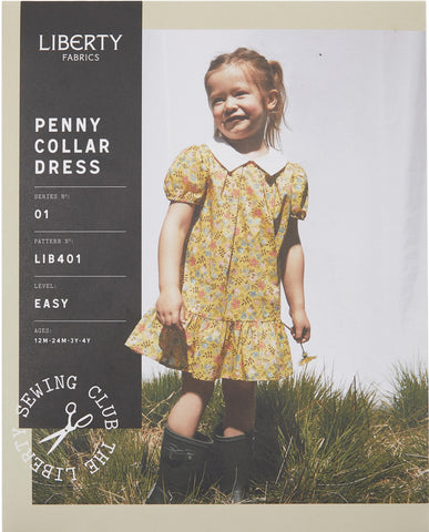 LIB401 Penny Collar Dress