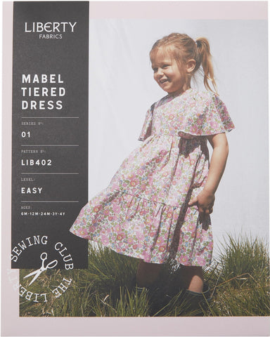 LIB402 Mabel Tiered Dress