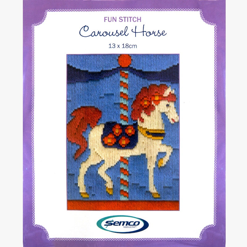 Fun Stitch Carousel Horse