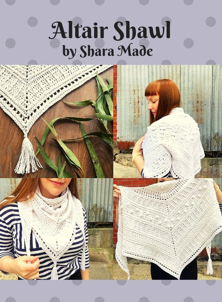 3858 Altair Crochet Shawl (Digital Pattern)