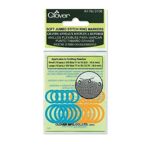 Soft Jumbo Stitch Ring Markers 3108