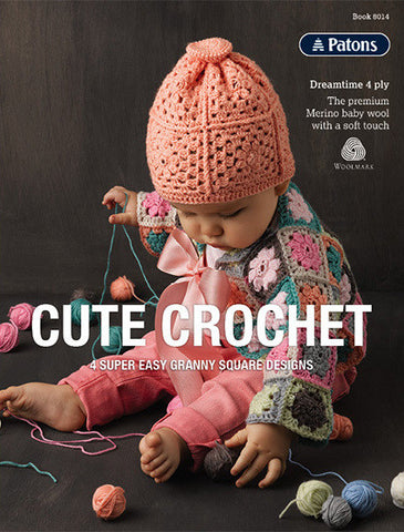 Cute Crochet Leaflet 8014