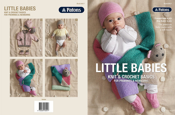 8017 Little Babies Knit & Crochet Basics