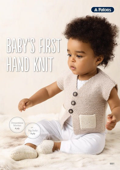 9001 Baby's First Hand Knits Leaflet